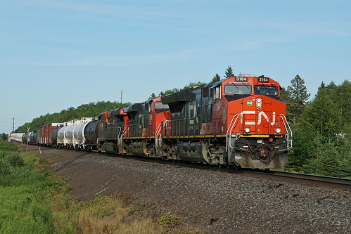 CN 3164 at Oliver