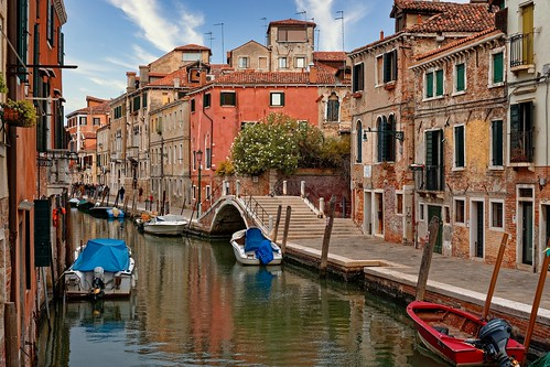 Venezia Cannaregio / Rio de la Sensa / Fondamenta dei Mori / Ponte Brazzo