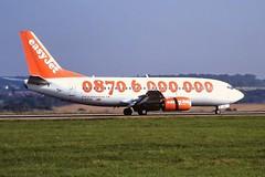G-EZYK Boeing 737-300 easyJet Luton 04-09-99