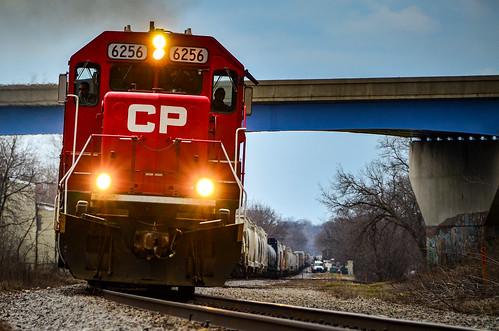 CP 6256 rounding at Oconomowoc