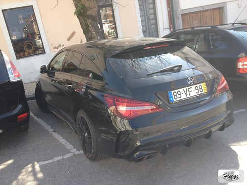 Mercedes CLA 45 AMG Shooting Brake - Aveiro