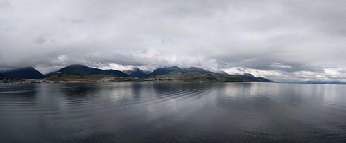 sailing away from Tierra del Fuego