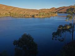 Aroona Dam near Leigh Creek in the Flinders Ranges. Late afternoon.