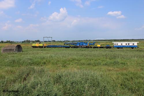 Railfeeding + Volkerrail in Keverdijk, 18-07-2020