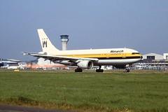 G-MONS A300 Monarch Luton 04-09-1999