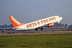 G-EZYL Boeing 737-300 EasyJet Luton 04-09-99