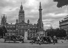 busy george square