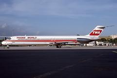 N415EA - Douglas DC-9-51 - TWA - KTPA - Nov 1993