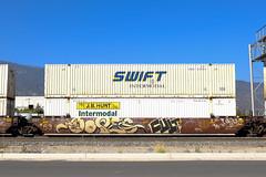 Freight Train Graffiti July 17th 2020