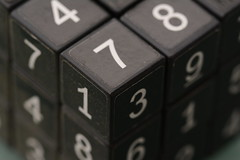 Numeric Rubik's cube