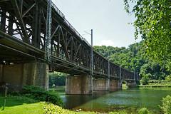 Doppelstockbrücke Alf - Bullay (1875-1878; 1929; 1947)
