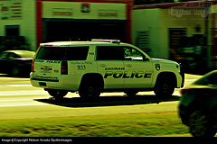 Saginaw Police Department 2016 Tahoe PPV