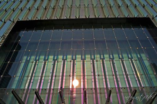 One World Trade Center Entrance Freedom Tower WTC Skyscraper Lower Manhattan New York City NY P00594 DSC_2720