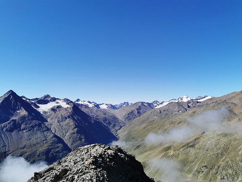 Panorama in den Ötztaler Alpen