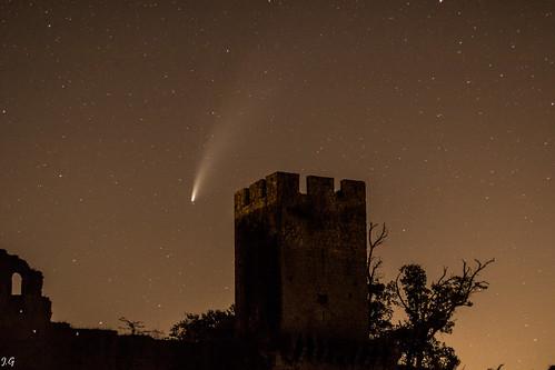 Comète C2020 F3 NEOWISE à Budos