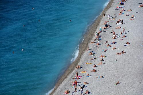 La plage Nice France_6719