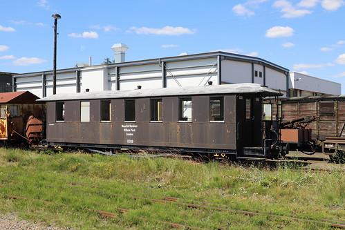 Mansfelder Eisenbahn Wagen 0088, Klostermansfeld