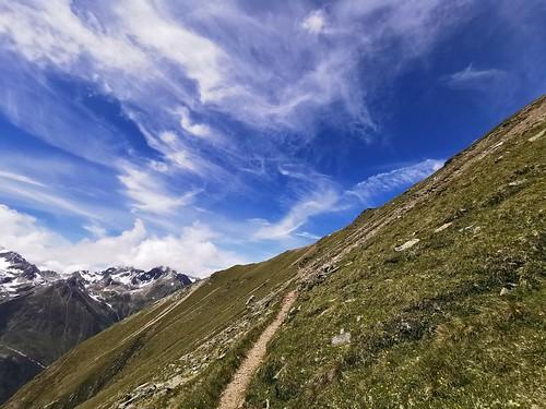 Aufstieg zum Aussichtspunkt Gahwinden im Pitztal_2