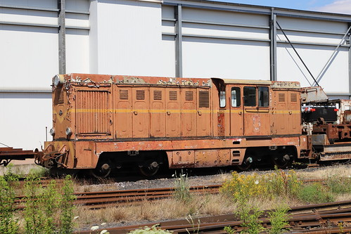 Diesel Lokomotive Faur Lxd2, Klostermansfeld