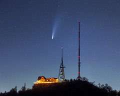 Comet NEOWISE above the Üetliberg [explored]