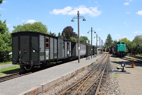 Mansfelder Kreisbahn, Museumswagen Klostermansfeld