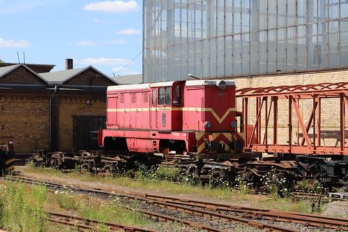 Diesel Lokomotive FAUR PKW Lxd2 09, Klostermansfeld