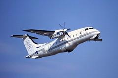 OE-GBB Dornier 328 Tyrolean Luton 04-09-99
