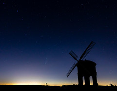 Comet Neowise,The Big Dipper & Chesterton Windmill