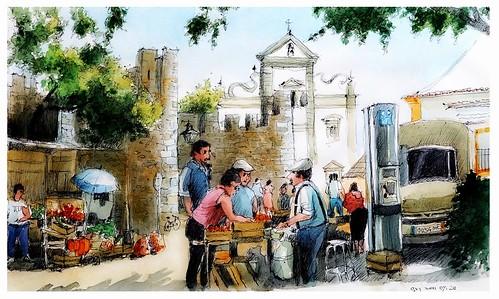 Beja - Alentejo - Portugal - o mercado