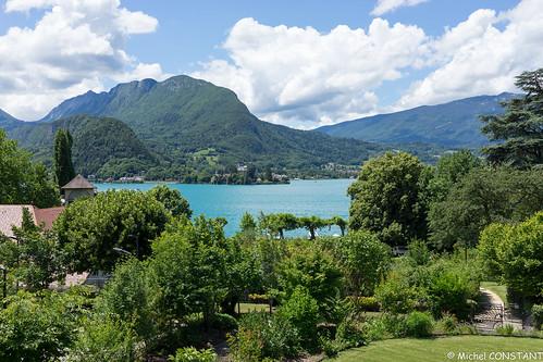 Lac d'Annecy vu depuis Talloires