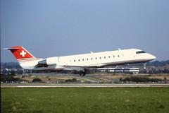 HB-IDJ CRJ-100 Tag aviation Luton 04-09-99