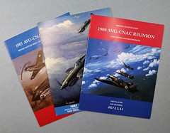 81.49.A Booklets 5 AVG-CNAC Reunions American Volunteer Group China National Aviation Corporation Various years 1985 reunion 2 copies 1987 reunion 2 copies 1989 reunion 1 copy