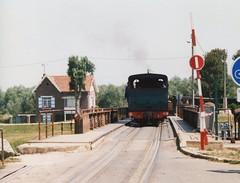 Chemain de Fer Touristique de la Baie de la Somme No. 15 street running St Valery in 2004