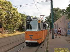 Ganz KCSV7 1301 Budapest-Kelenföld, 2020. 07. 21.