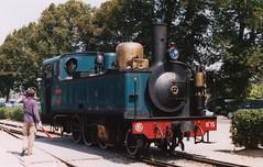 Chemain de Fer Touristique de la Baie de la Somme No 15 at St Valery in 2004