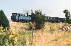 Chemain de Fer Touristique de la Baie de la Somme No.15 near St Valery in 2004