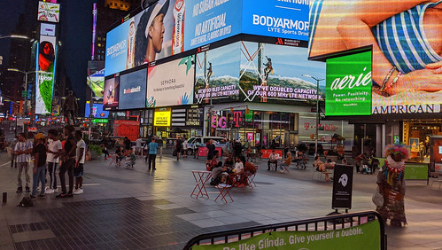 Times Square in the Time of Covid