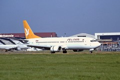 TC-AFZ Boeing 737-400 Pegasus LTN 04-09-99