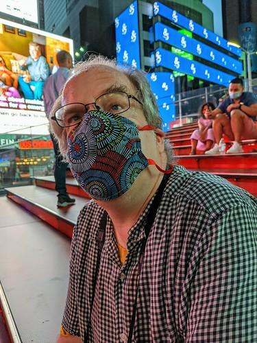 Sanford in Times Square