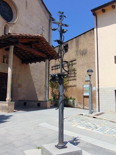 Creu a la plaça de l'Església