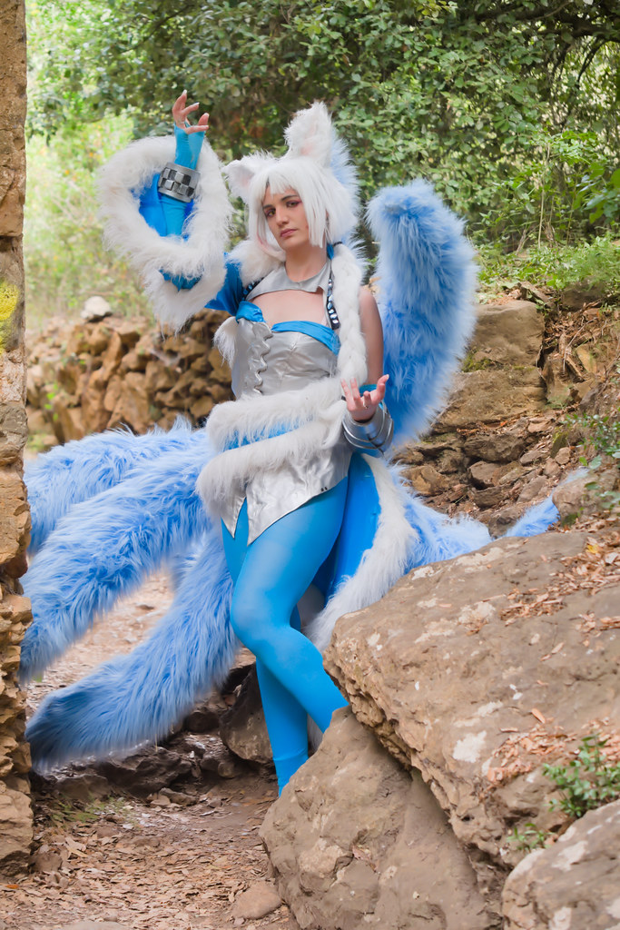 related image - Shooting Ahri - League of Legends - Lili et le troll - Gorges du Verdouble -2020-07-10- P2177080