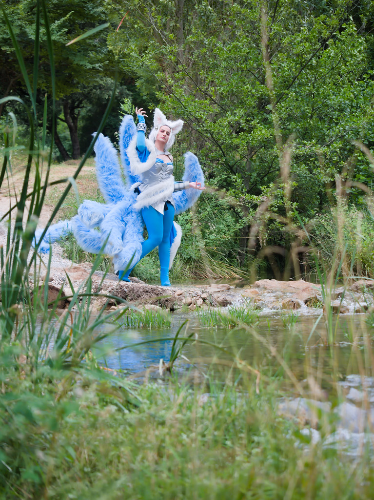 related image - Shooting Ahri - League of Legends - Lili et le troll - Gorges du Verdouble -2020-07-10- P2177025
