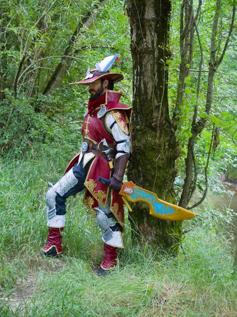 related image - Shooting Brigade Armor & Kuluyaku  - Monster Hunter World - Aro & Zeph - Bords de l'Aussonelle- Colomiers -2020-07-10- P2177493
