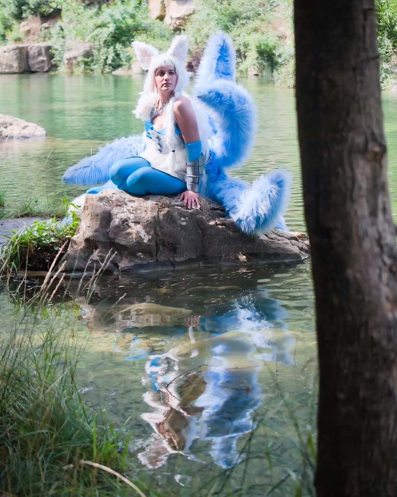 related image - Shooting Ahri - League of Legends - Lili et le troll - Gorges du Verdouble -2020-07-10- P2177133