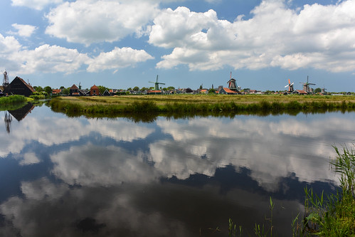 Dutch Clouds Reflections