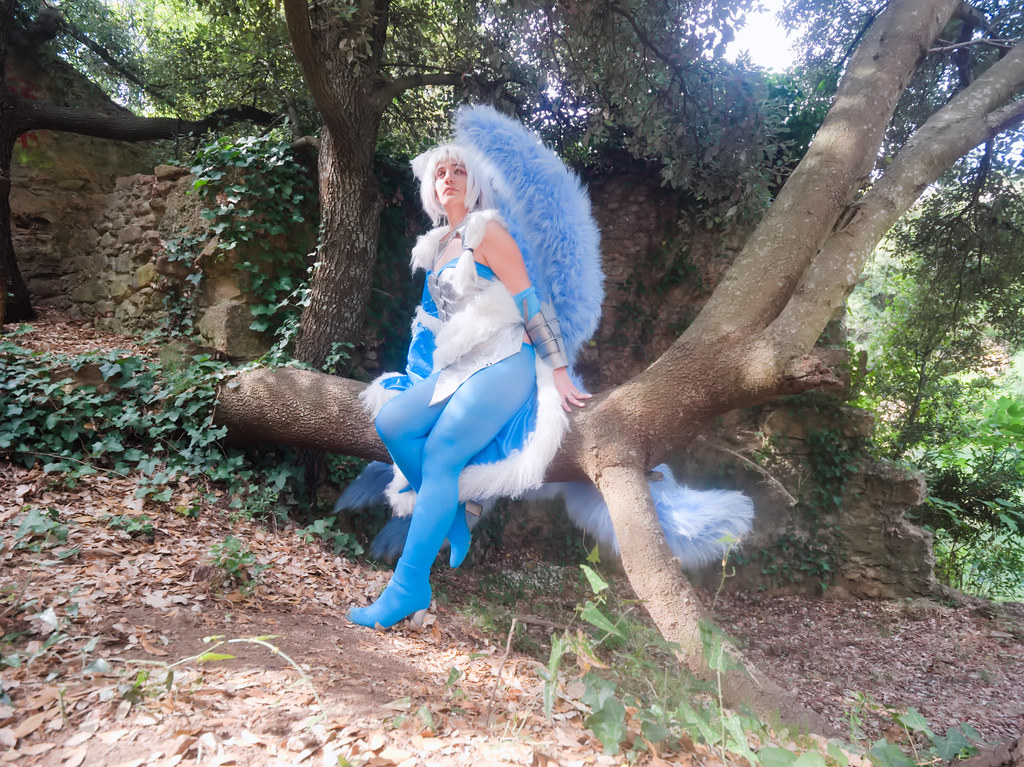 related image - Shooting Ahri - League of Legends - Lili et le troll - Gorges du Verdouble -2020-07-10- P2177091