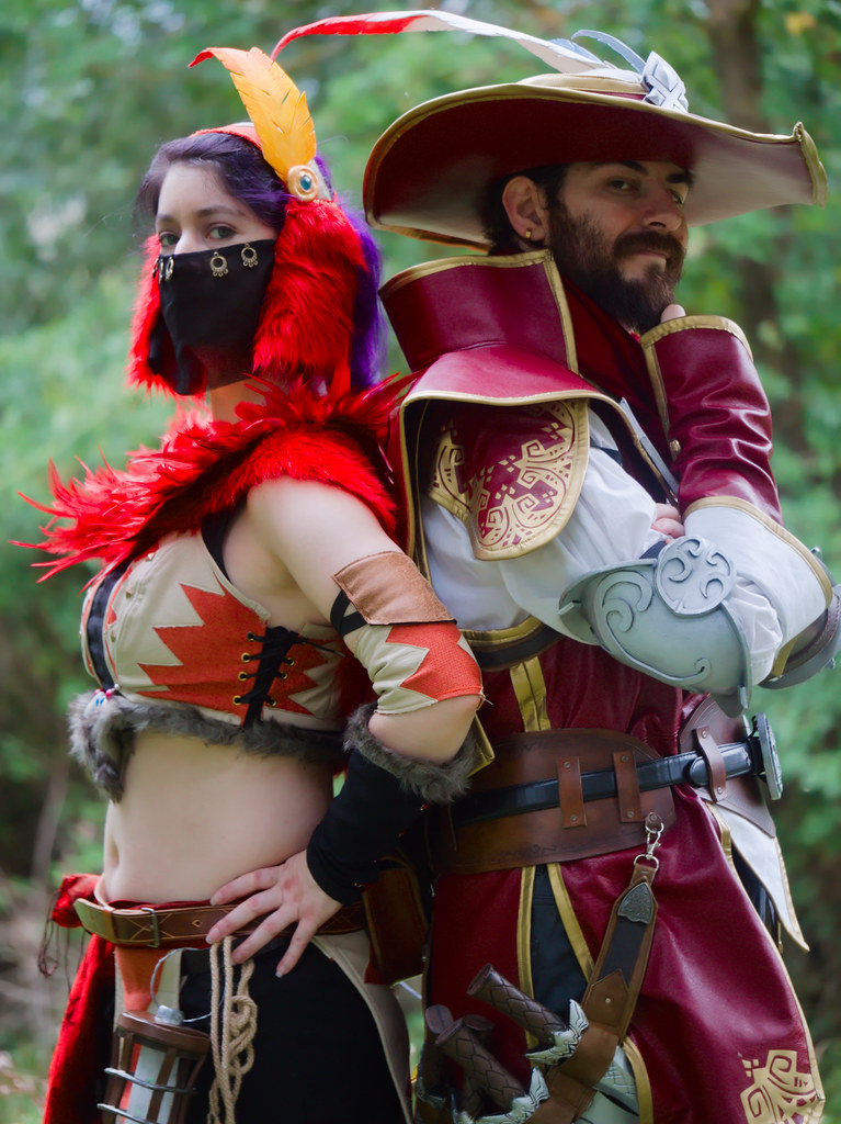 related image - Shooting Brigade Armor & Kuluyaku  - Monster Hunter World - Aro & Zeph - Bords de l'Aussonelle- Colomiers -2020-07-10- P2177608