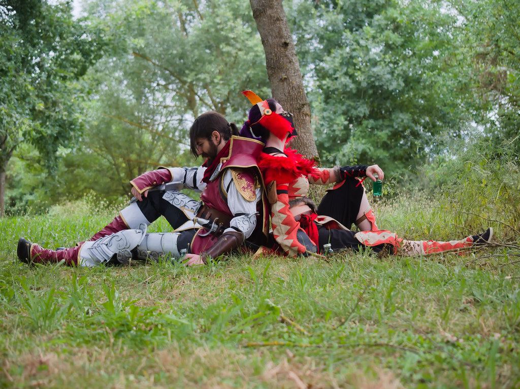 related image - Shooting Brigade Armor & Kuluyaku  - Monster Hunter World - Aro & Zeph - Bords de l'Aussonelle- Colomiers -2020-07-10- P2177613