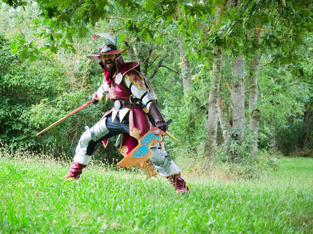 related image - Shooting Brigade Armor & Kuluyaku  - Monster Hunter World - Aro & Zeph - Bords de l'Aussonelle- Colomiers -2020-07-10- P2177489
