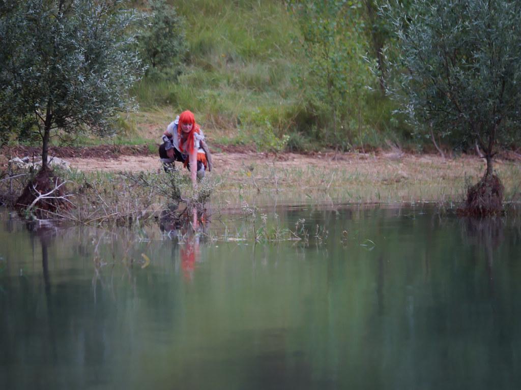 related image - Shooting Aloy - Horizon Zero Dawn - Jolia - Lac de la Ganguise -2020-07-11- P2177630
